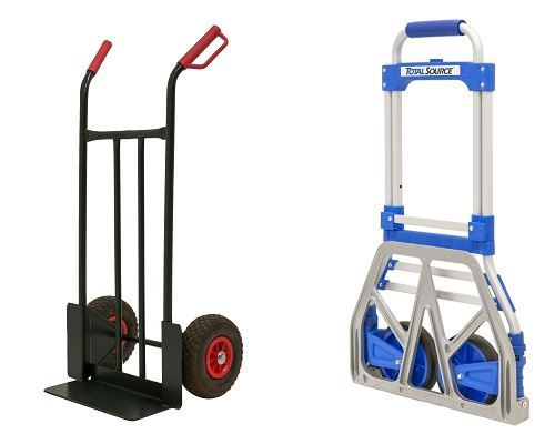 Hand trolley and Folded hand truck