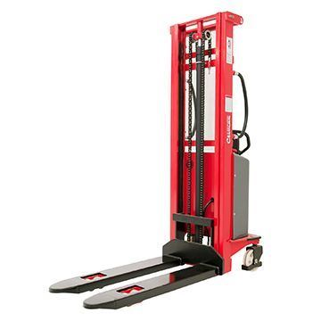 semi electric pallet stackers