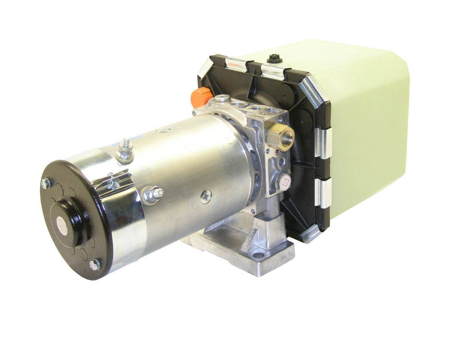Hydraulic pump groups and generators