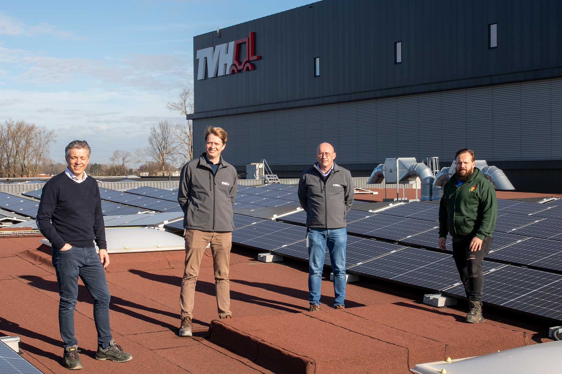 TVH invests in over 3,200 new solar panels