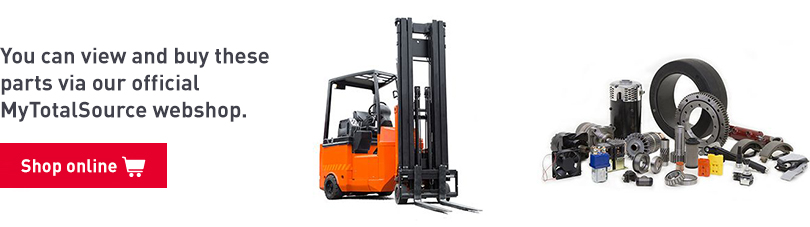 articulated forklift parts