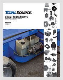 Parts for Rough Terrain forklifts catalogue