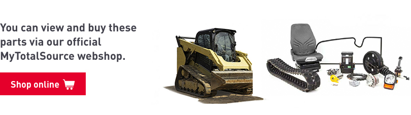 Parts for your compact track loader