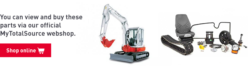 Buy parts for mini-excavators