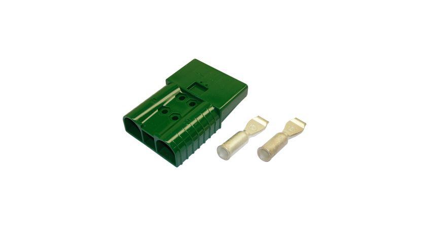 Anderson Power Products (APP) Battery connector green