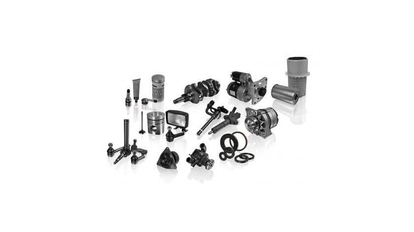 Parts for agricultural tractors