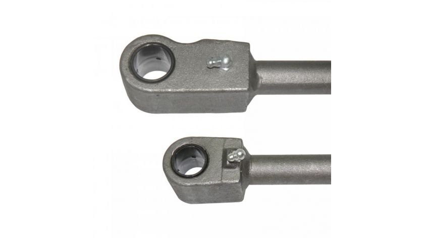 Push-pull rods for handling equipment