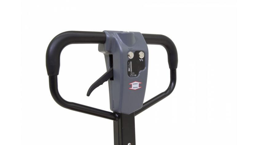 Semi-electric pallet truck handle