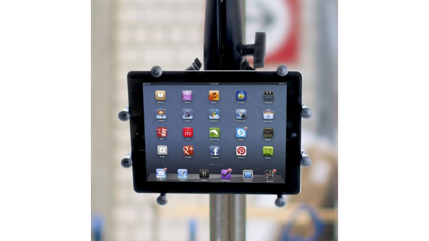 Device holder for tablets