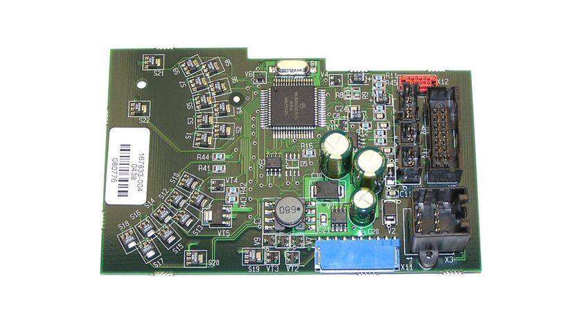 Printed circuit boards for forklifts - with software