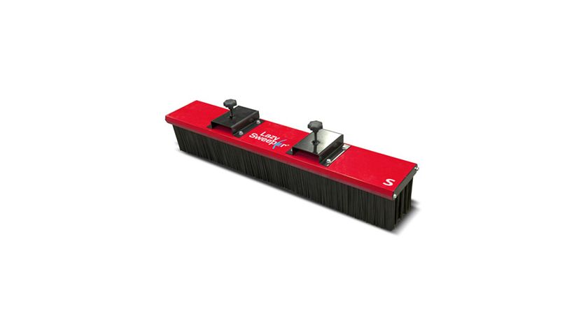 Lazy Sweeper brush for forklifts