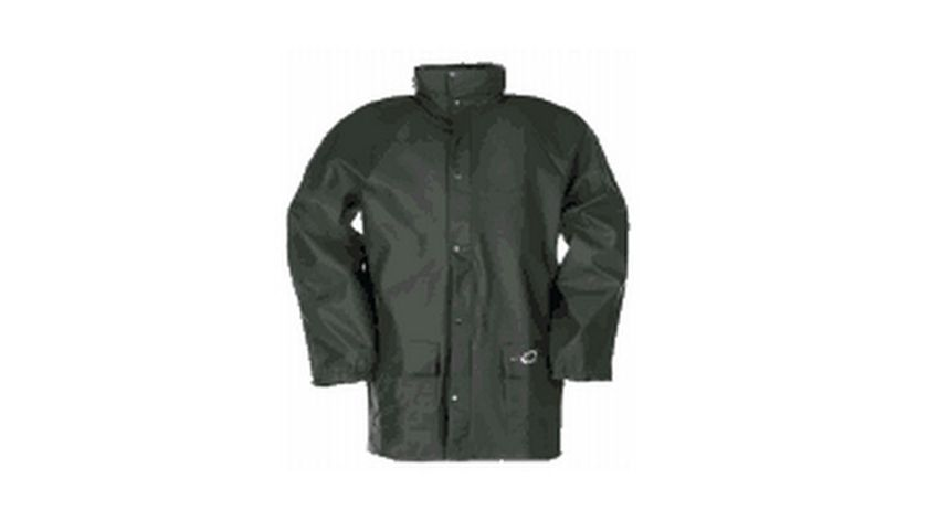 Sioen green work coat