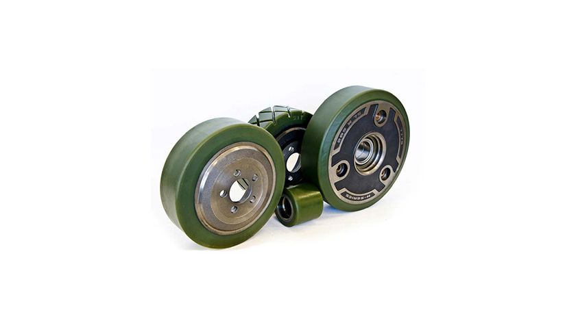 Stellana powerfriction wheels