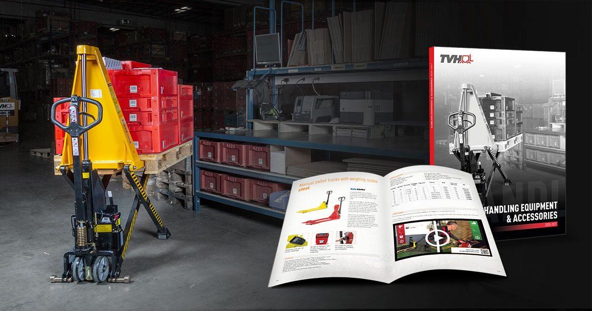 Handling equipment catalogue