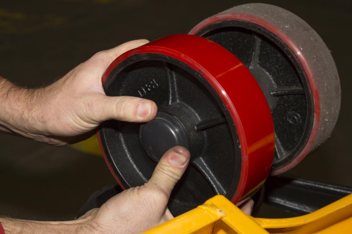 Image result for pallet jack wheels